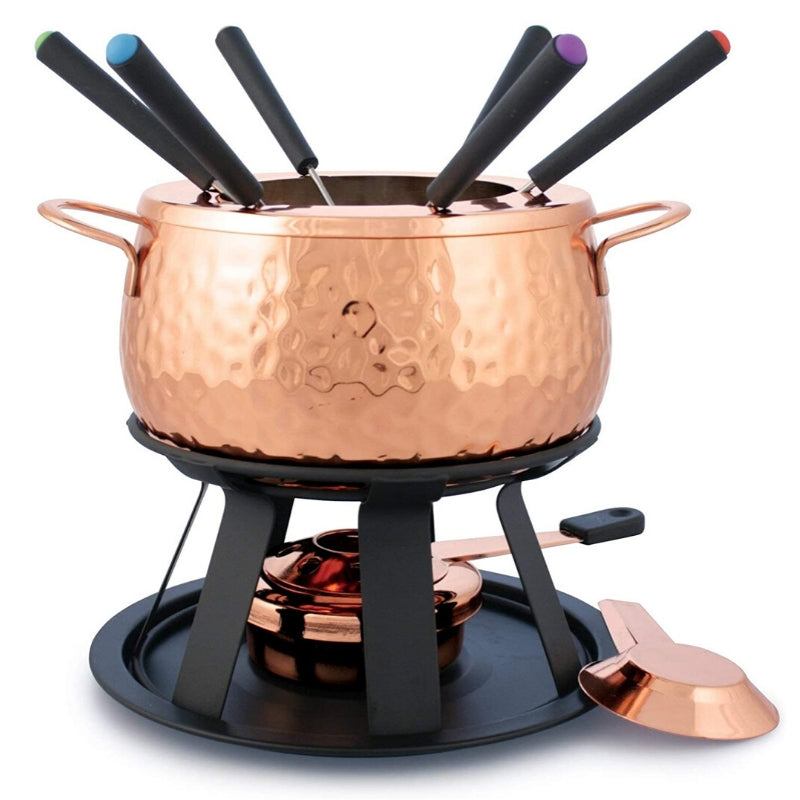 Swissmar 11 piece Fondue Set - Copper