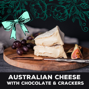 Mother's Day Cheese Chocolate & Crackers Gift Box