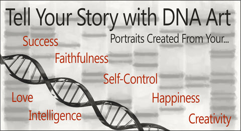 Genes in DNA Art