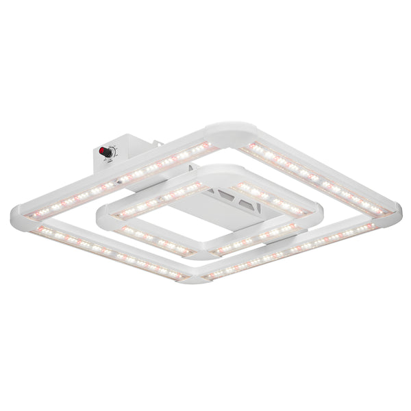 Introductory Price: $100 OFF! (use discount code 'Square100' at checkout) Introducing the FGI Square LED Grow Light, Designed by Master Growers, Approved by Mother Nature