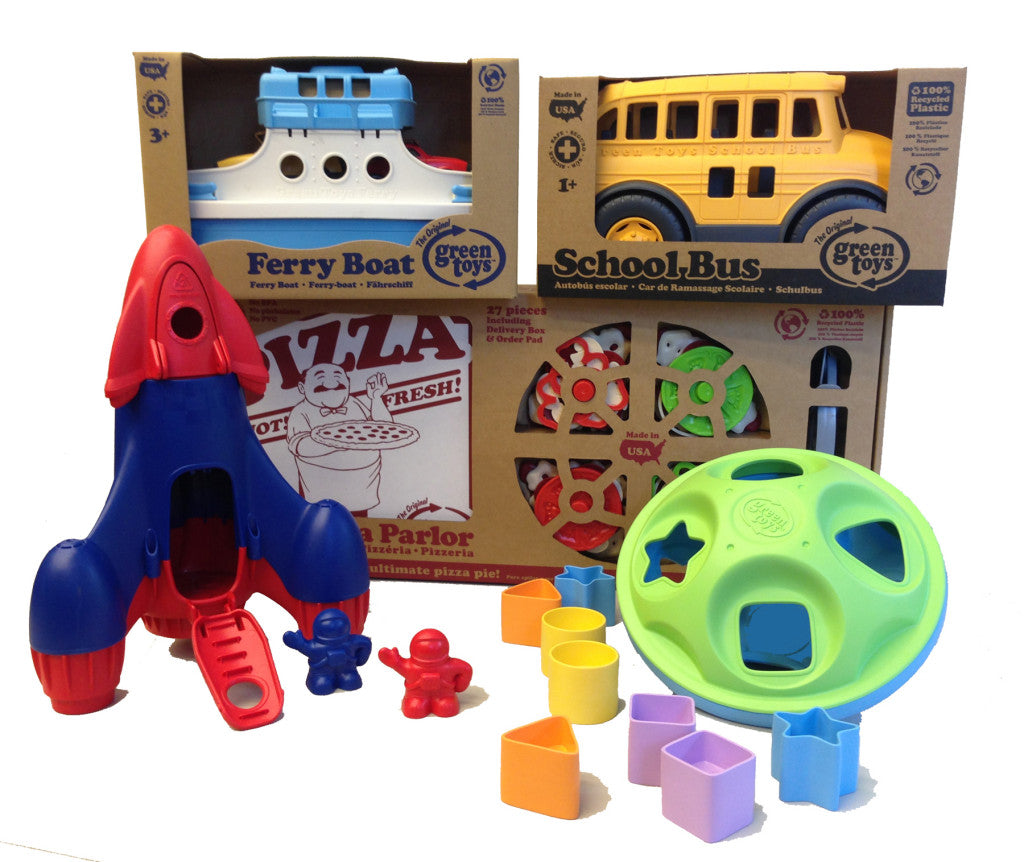 Green Toys Holiday Play Bundle