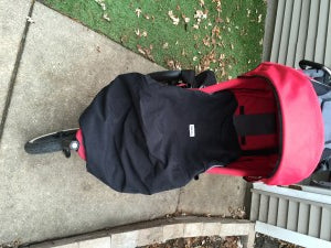 Our carrier cover can be used with your stroller (Phil & Ted's jogger pictured)