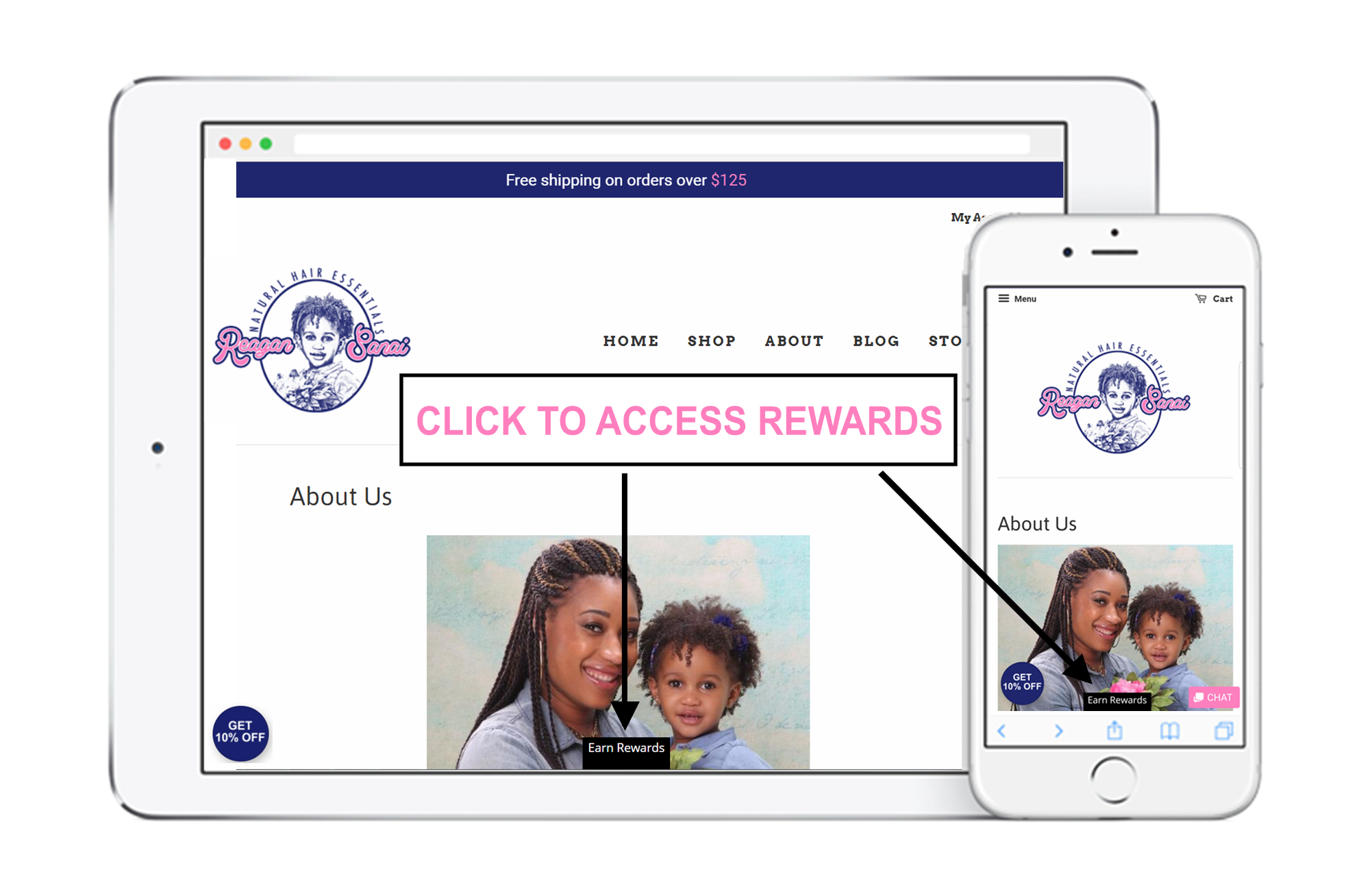 Reagan Sanai access rewards