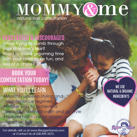 Mommy & Me Natural Hair Consultation