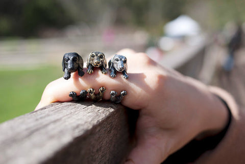 Dachshund Wrap Ring 50% OFF (while supplies last)