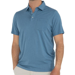 Free Fly Men's Bamboo Heritage Polo