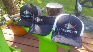 Live By The Tide Trucker Hat