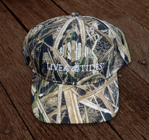 Live By The Tide Camo Hat