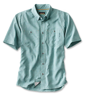 Orvis Tech Chambray SS Work Shirt