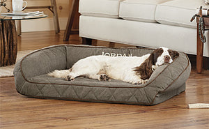 Orvis - AirFoam Bolster Dog Bed