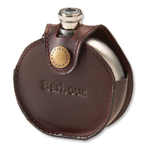 Barbour - Round Hip Flask