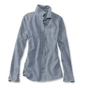 Orvis Women's Tech Chambray Work Shirt
