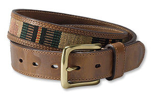 Orvis Blanket Striped Inlay Belt