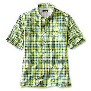 Orvis Open Air Plaid SS Casting Shirt