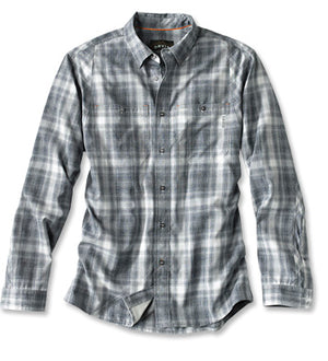 Orvis - Tech Chambray Plaid Work Shirt
