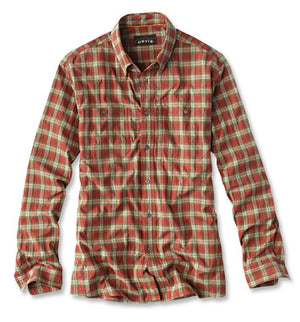 Orvis Flat Creek Organic Stretch L/S Shirt