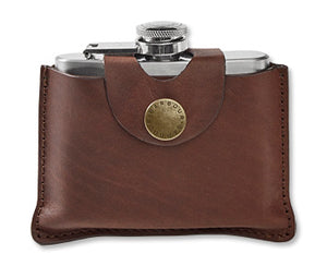 Barbour Hinged Hip Flask