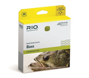 Rio Mainstream Fishing Bass Fly Line