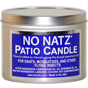 No Natz 16oz Tin Candle