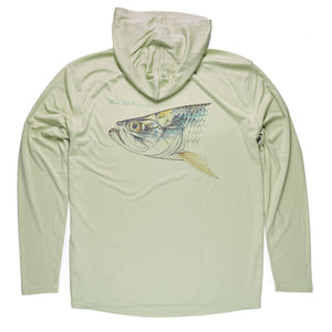 Flood Tide Co. Flats Legend Hooded Solarshirt