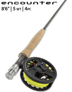Orvis Encounter 4pc Fly Rod Outfit