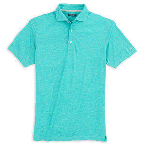 Fish Hippie Boden Streak Heather Performance Polo