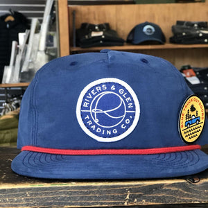 Rivers and Glen Logo Snapback Colorway