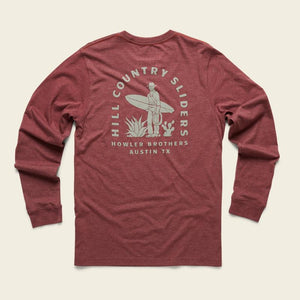 Howler Brothers Hill Country Sliders LS T-Shirt