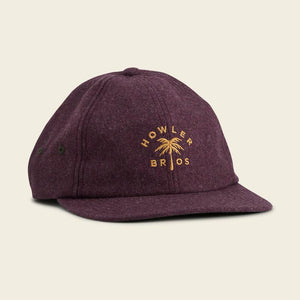 Howler Brothers Palm Strapback Regal Purple