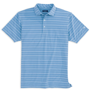 Fish Hippie Finlo Stripe Performance Polo