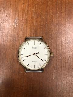 Form Function Form Timex Fairfield White/Gold
