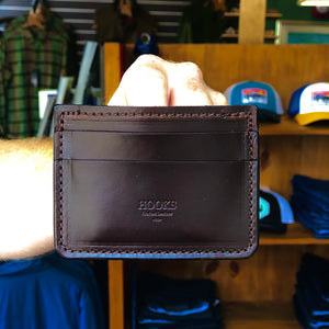 Hooks Crafted Leather Co. Cash/Card Wallet