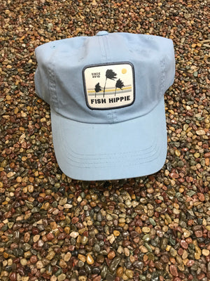 Fish Hippie 3 Palms Sport Cap
