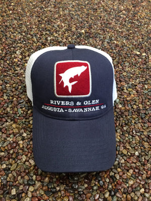 Simms Tarpon Trucker Cap with Rivers & Glen | Augusta - Savannah