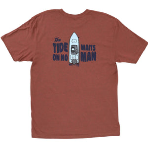 Marsh Wear Tide Awaits for No Man T-Shirt