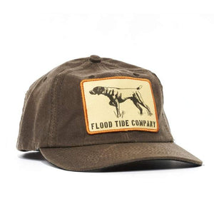 Flood Tide Co. Pointer 3.0 Waxed Twill Cap