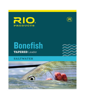 RIO PRODUCTS Bonefish Fly Fishing Knotless Leaders 10ft & 12ft 8-12lb.