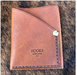 Hooks Crafted Leather Co. Minimalist Card Wallet