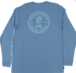 Marsh Wear Shuck Local LS Tshirt