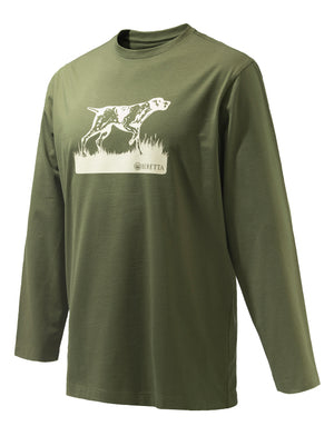 Beretta Pointer Sketch LS Tshirt