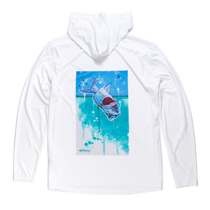 Flood Tide Co. Taking Flight Hooded Sunshirt