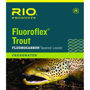 RIO PRODUCTS FLUOROFLEX TROUT LEADER 9FT