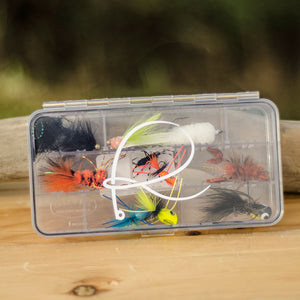 Warm Water Fly Box (loaded)