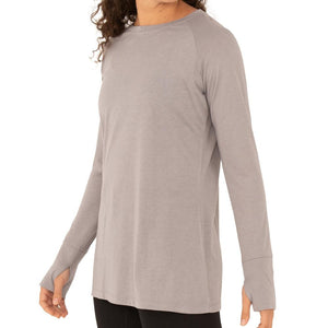 Free Fly Apparel Women's Bamboo Weekender L/S