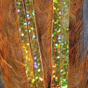 Hareline Dubbin Bling Rabbit Strips