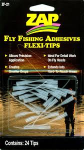ZAP Fly Fishing Adhesive Flexi-Tips