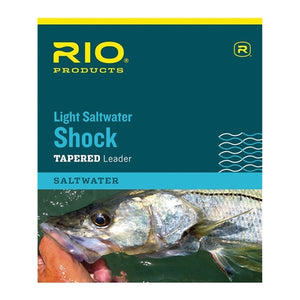RIO PRODUCTS SALTWATER LIGHT SHOCK LEADER
