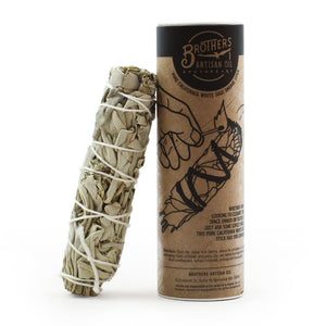 Brothers Artisan Oil White Sage Smudge Stick