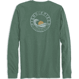 Fish Hippie Dusk Breaker Long Sleeve T-Shirt