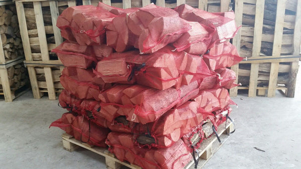 Kiln Dried Ash 10kg nets 40 nets delivered - logsandfuel